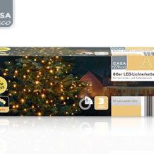 Casa Deco LED-Lichterkette bei Aldi Süd ab 19.10.2017 erhältlich