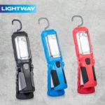 Lightway Akku-LED-Arbeitsleuchte bei Hofer ab 9.10.2017 erhältlich