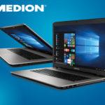 Medion Akoya E7424 Notebook im Angebot bei Hofer 30.10.2017 - KW 44