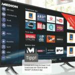Medion Life X17024 42,5-Zoll Smart-TV-Fernseher im Angebot bei Aldi Süd 23.4.2016 - KW 16
