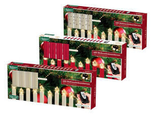 melinera 12 led weihnachtsbaumkerzen bei lidl ab. Black Bedroom Furniture Sets. Home Design Ideas