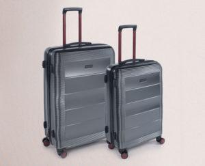 royal class polycarbonat koffer set bei hofer ab. Black Bedroom Furniture Sets. Home Design Ideas