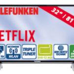 Telefunken D32F287X4CWI 32-Zoll FullHD-LED-TV Fernseher bei Real ab 16.10.2017 erhältlich