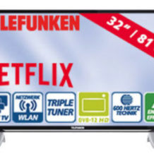 Telefunken D32F287X4CWI 32-Zoll FullHD-LED-TV Fernseher im Real Angebot