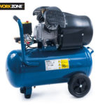 Hofer 28.2.2019: Workzone Kompressor 50 Liter im Angebot