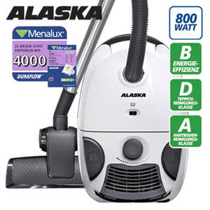 Alaska VC 1500 Bodenstaubsauger im real,- Angebot