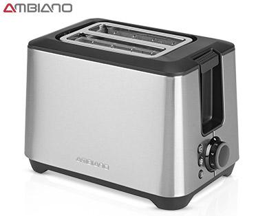 Ambiano Edelstahl-Toaster im Aldi Süd Angebot