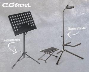 C.Giant Noten- und Instrumentenständer im Hofer Angebot ab 12.11.2018