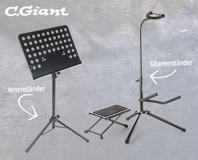 C.Giant Noten- und Instrumentenständer bei Hofer / Aldi Schweiz ab 13.11.2017 erhältlich