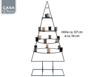 Casa Royale Metall-Weihnachtsbaum im Aldi Süd Angebot
