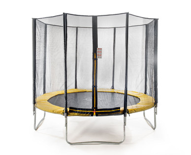 crane trampolin mit sicherheitsnetz im angebot bei hofer. Black Bedroom Furniture Sets. Home Design Ideas