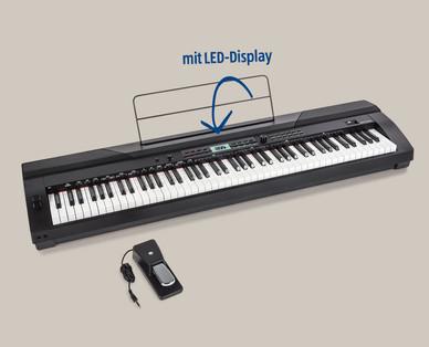 E-Piano mit LED-Display und 88 Tasten bei Hofer / Aldi Schweiz ab 13.11.2017 erhältlich