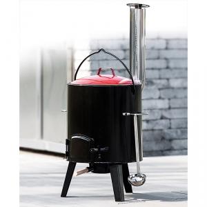 Activa Grillküche Emaillierter Eintopfofen / Gulaschkanone 14 Liter bei Norma und Kaufland erhältlich