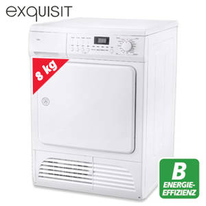 Exquisit TK 810-7.1 B Kondenstrockner bei Real ab 6.11.2017 erhältlich