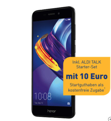 Aldi Nord 30.11.2017: Huawei Honor 6C Pro Smartphone mit Android 7 im Angebot