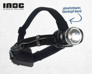 INOC LED-Stirnlampe