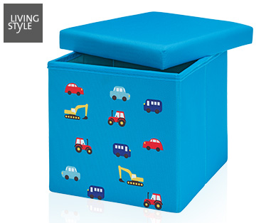 Living Style Kinder Sitz- und Aufbewahrungsbox