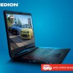 Medion Erazer X7855 Gaming-Notebook im Angebot bei Hofer 18.12.2017 + Aldi Süd 27.12.2017