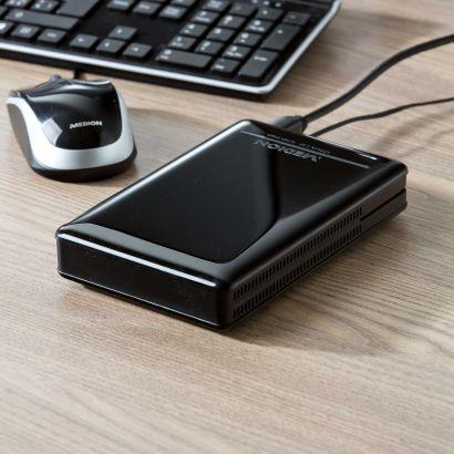 Medion P83779 MD 90210 Externe 1TB Festplatte im Aldi Belgien Angebot