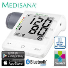 Medisana BU 530 Connect Oberarm-Blutdruckmessgerät: Real Angebot