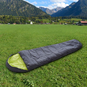 Mumien-/Deckenschlafsack und Thermo-Liegematte im Angebot bei Aldi Nord