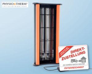 physiotherm mobiler infrarot einzelstrahler im hofer angebot kw 50 ab. Black Bedroom Furniture Sets. Home Design Ideas