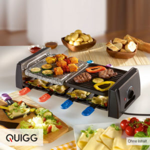 Quigg Raclette-Grill: Aldi Nord Angebot ab 10.12.2018
