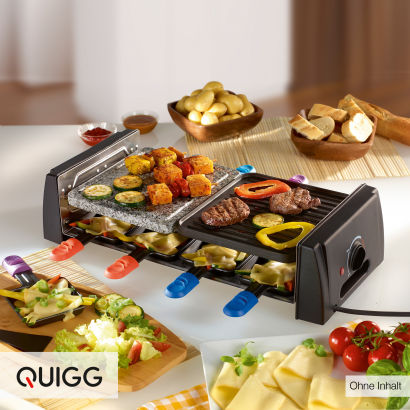 quigg raclette grill im aldi nord angebot. Black Bedroom Furniture Sets. Home Design Ideas