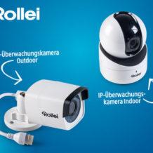 Hofer 8.12.2017: Rollei SafetyCam 200 und 100 IP-Überwachungskameras im Angebot