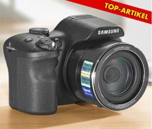 Samsung WB1100F Bridge-Reisekamera bei Kaufland erhältlich