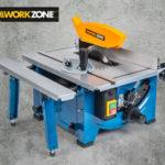 Workzone Tischkreissäge 1200 Watt im Angebot bei Hofer 7.12.2017 - KW 49
