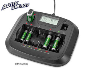 Activ Energy Profi-Schnell-Ladegerät mit USB