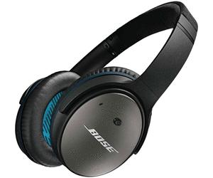 Bose Quiet Comfort 25 Stereo-Kopfhörer im Angebot bei Real [KW 5 ab 29.1.2018]