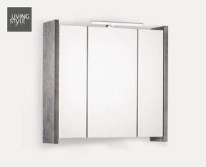 LIVING STYLE- Badezimmer-Spiegelschrank