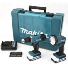 Makita DF457DWLX1 Akku-Bohr-Schrauber-Set im Real Angebot