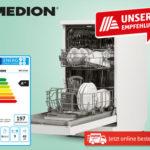 Hofer 22.3.2018: Medion Geschirrspüler Slim im Angebot