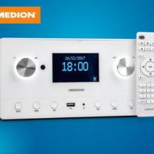 Medion P85066 WLAN Stereo Internet-Radio im Angebot | Hofer 14.12.2017 - KW 50