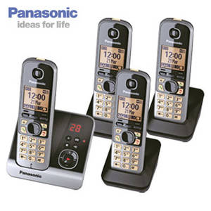 Panasonic KX-TG6724 Schnurlos-DECT-Telefon bei Real ab 2.1.2018 erhältlich