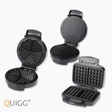 Quigg Doppel-Waffeleisen im Angebot   Aldi Nord 21.11.2019 - KW 47