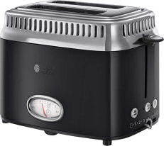 Russell Hobbs Classic Noir 21681-56 Kompakt-Toaster Retro im Kaufland Angebot