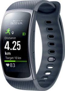 Samsung Gear Fit2 Smartwatch mit Pulssensor