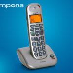 Emporia D40 Schnurlostelefon im Angebot bei Hofer 14.12.2017 - KW 50