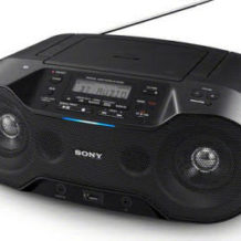 Sony ZS-RS70BTB Bluetooth-Stereo-CD-Boombox: Real Angebot