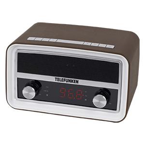 Telefunken R1004B Uhrenradio im Angebot bei Real [KW 52 ab 27.12.2017]