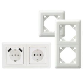 USB-Steckdose und Steckdosen