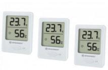 Bresser Digitales Thermometer Hygrometer 3er-Set
