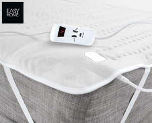 easy home w rmeunterbett mit 2 zonen aldi s d angebot ab. Black Bedroom Furniture Sets. Home Design Ideas