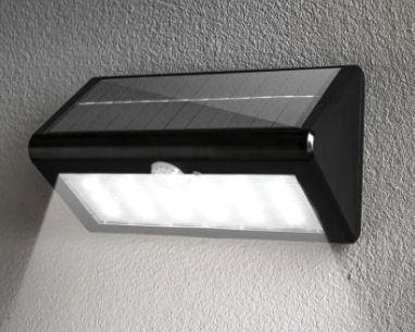 i-Glow Solar-SMD-LED-Wandleuchte im Angebot bei Norma [KW 5 ab 31.1.2018]