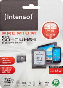 Intenso Micro-SDHC-Speicherkarte UHS-I