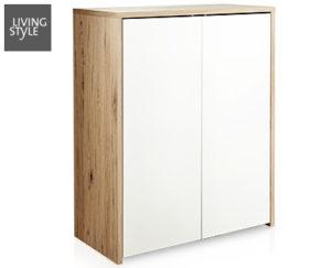 living style schuhkommode im angebot bei aldi s d kw 6 ab 5. Black Bedroom Furniture Sets. Home Design Ideas